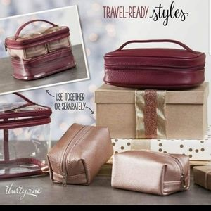 Thirty one beauty trio in wine
